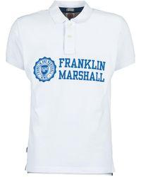 Franklin & Marshall - Aylen Men's Polo Shirt In White - Lyst