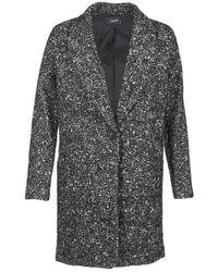 School Rag - Miyuri Women's Coat In Grey - Lyst