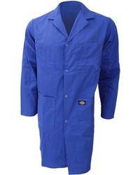 2b0c790dbc Dickies - Redhawk Warehouse Coat Mens Workwear Men's Coat In Blue - Lyst