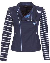 Desigual - Jopo Women's Jacket In Blue - Lyst