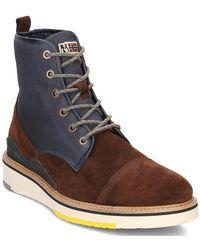 Napapijri - C4 Men's Mid Boots In Brown - Lyst