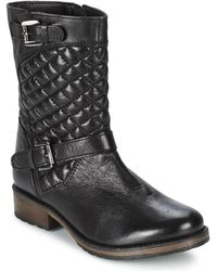 Lotus - Conroe Women's Mid Boots In Black - Lyst