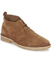 Jack & Jones | Gobi Suede Desert Boot Men's Mid Boots In Brown | Lyst