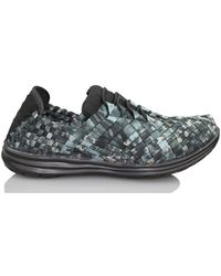Bernie Mev - Victoria Black Camuflaje W Women's Shoes (trainers) In Green - Lyst
