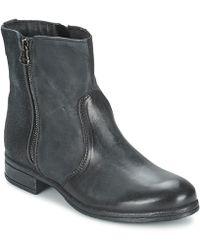 Dream in Green - Aksana Women's Mid Boots In Grey - Lyst