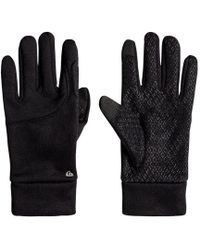 Quiksilver - Toonka - Guantes Para Hombre Men's Gloves In Black - Lyst