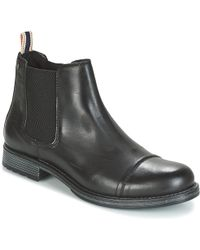 Jack & Jones | Greg Men's Mid Boots In Black | Lyst