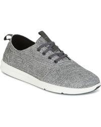 TOMS - Del Rey Men's Shoes (trainers) In Grey - Lyst