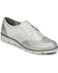 S.oliver - Blasfore Women's Casual Shoes In Silver - Lyst
