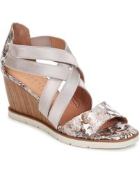 Hispanitas - Riviera Women's Sandals In Grey - Lyst