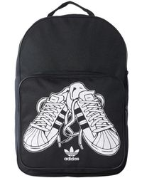 00e08962cc94 adidas - Superstar Trainer Bp Men s Backpack In Black - Lyst