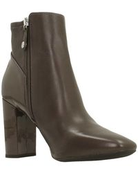 Geox - D New Symphony High Women s Low Ankle Boots In Brown - Lyst e7c9ec12dec