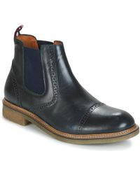 Tommy Hilfiger - Barrett 3a Men's Mid Boots In Blue - Lyst
