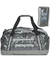 Patagonia - Black Hole Duffel 60l Men's Travel Bag In Grey - Lyst