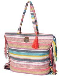 Rip Curl - Standard Tote Chela Bag Lsbig1 3282 Women's Handbags In Multicolour - Lyst