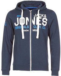 Jack & Jones - JORGRIN hommes Sweat-shirt en bleu - Lyst