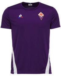 3a4d1cda9 Le Coq Sportif - 2018-2019 Fiorentina Training Tee Women s T Shirt In  Purple -