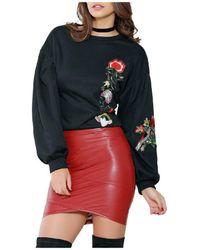 Infinie Passion - Black Sweatshirt 00w056346 Women's Sweatshirt In Black - Lyst