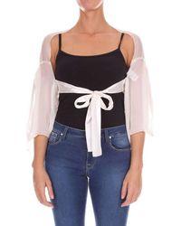 Alberta Ferretti - A02231615 femmes Blouses en blanc - Lyst