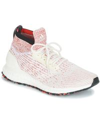 97e528645476d adidas - Ultraboost All Terr Men s Running Trainers In White - Lyst