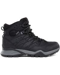 The North Face - Hedgehog Hike Ii Mid Gtx Goretex Women's Walking Boots In Black - Lyst