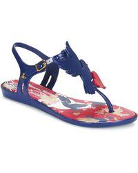 a9b6f55132a3e8 Melissa - Solar Ii Westwood Women s Sandals In Blue - Lyst
