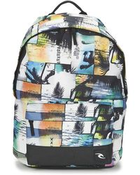 Rip Curl - Ocean Glitch Dome Boys's Children's Backpack In Multicolour - Lyst