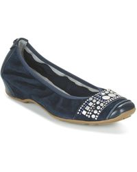 Mam'Zelle - Filae Women's Shoes (pumps / Ballerinas) In Blue - Lyst