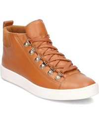 Gino Rossi - Mariko Women's Shoes (high-top Trainers) In Brown - Lyst