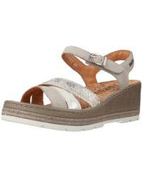 Mephisto - Benita Buck Women's Sandals In Grey - Lyst