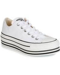 78413d4d0323 Converse - Chuck Taylor All Star Platform Eva Layer Canvas Ox Women s Shoes  (trainers)
