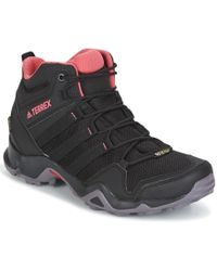 adidas Originals - Terrex Ax2r Mid Gtx Women's Walking Boots In Black - Lyst