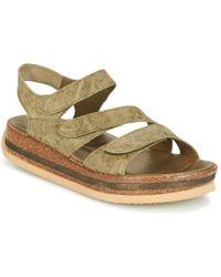 Think! - Croktak Women's Sandals In Green - Lyst
