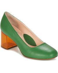 Miss L Fire - Moneypenny Women's Sandals In Green - Lyst