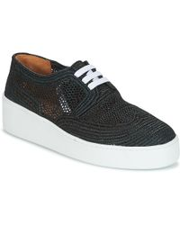 Robert Clergerie - - Women's Shoes (trainers) In Black - Lyst
