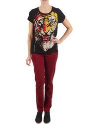 ELEVEN PARIS - Pandore Women Women's Trousers In Red - Lyst