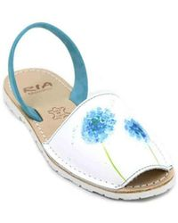 Ria Menorca - Menorca 27139-s2 Avarcas Sandals For Women Women's Sandals In White - Lyst
