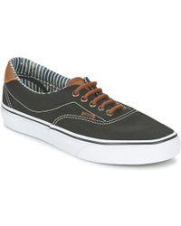 Vans - Era 59 Women's Shoes (trainers) In Black - Lyst