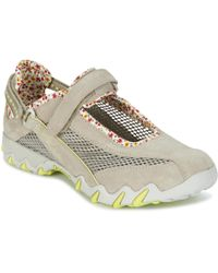 Allrounder By Mephisto - Niro Women's Shoes (trainers) In Beige - Lyst