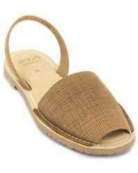 Ria Menorca - Rueda 27500 Women ́s Menorca Avarca Sandals Women's Sandals In Brown - Lyst