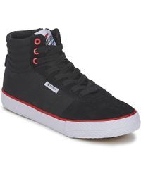 Feiyue - A.s High Skate Women's Shoes (high-top Trainers) In Black - Lyst