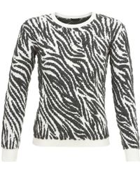 IKKS - Patiente Women's Sweater In Black - Lyst