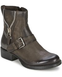 Dream in Green - Toufayl Women's Mid Boots In Brown - Lyst