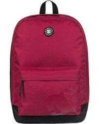 ddef1f06b5f3 DC Shoes - Backstack Backpack - Rio Red Men s Backpack In Red - Lyst
