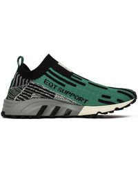 buy popular bb83d 0cbd2 adidas - Eqt Support Sk Pk Mens Shoes (trainers) In Green - Lyst
