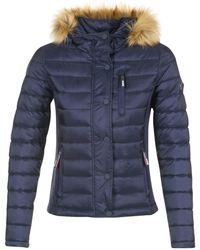 Superdry | Fuji Luxe Women's Jacket In Blue | Lyst