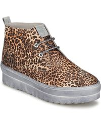 Ylati - Baia F Women's Shoes (high-top Trainers) In Brown - Lyst
