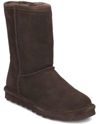 BEARPAW - Elle Short Women's Snow Boots In Brown - Lyst