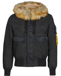 DIESEL - W Burke Men's Jacket In Black - Lyst