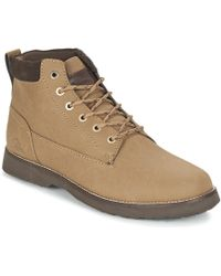 Quiksilver - Mission Ii M Boot Tkd0 Men's Mid Boots In Brown - Lyst